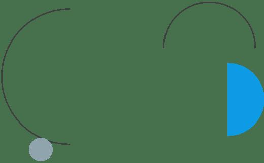 Imagem decorativa: linhas e circulos